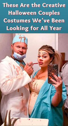 It's the spookiest time of the year, and we know you're scrambling for a costume idea. And if you are hoping to share the fun and excitement with a friend or a partner, you need extra creativity to truly master that plan. We've found couples costumes that really take dressing up to the next level, and we've honestly never seen anything quite like them before. Check out the best of the best, and feel free to steal! Fair Outfits, 80s Party Outfits, Rodeo Outfits, 70s Outfits, Cruise Outfits, Trendy Outfits, 2 Piece Outfits, Vintage Outfits, Homecoming Pictures