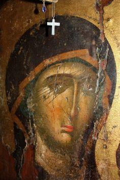 Фотография Byzantine Icons, More Photos, Fresco, Madonna, Photo Wall, Pictures, Painting, Beautiful, Religion