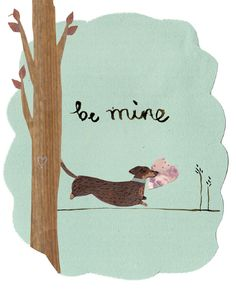 Be mine, by Emma Block