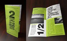 Mock-up – Leaflet – 2 x 99×210