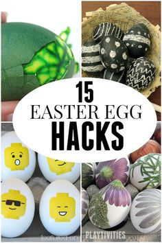 How To Dye Easter Eggs With Kids. Cool tricks and tips. Lots of pictures.