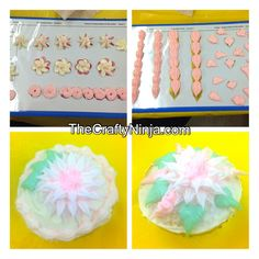 Wilton Cake Decorating Class from he Crafty Ninja, pinned with permission