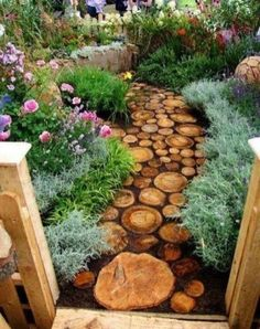 Lovely Small Front Yard Landscaping Ideas - Page 24 of 66 Stone Garden Paths, Garden Stones, Patio Stone, Small Front Yard Landscaping, Backyard Landscaping, Landscaping Ideas, Natural Landscaping, Backyard Designs, Small Patio