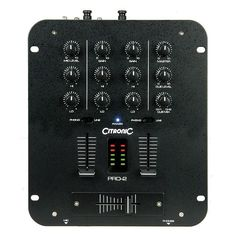 Citronic PRO2 MkII DJ mixer