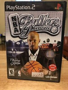 NBA Ballers: Phenom (Sony PlayStation for sale online Playstation 2, Ps3, Working Games, Tom Clancy's Rainbow Six, Gamers, Game Rooms, Old Games, Best Graphics, Mortal Kombat