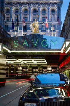 Savoy Hotel London #luxurydotcom