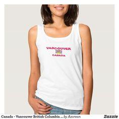 Canada - Vancouver British Columbia Shirt