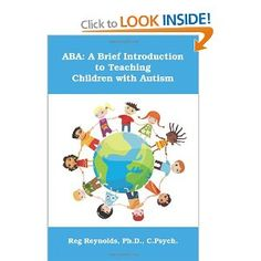 ABA: A Brief Introduction to Teaching Children with Autism