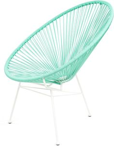 Sessel Acapulco - Mexikanischer Stuhl - Aqua Splash - La Chaise Longue