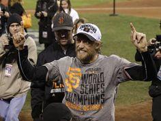 S.F. Giants 2014 World Series Champions ~ Hunter Pence