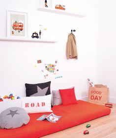 Planche de stickers A3 chambre d'enfant et bébé : Fun traffic !