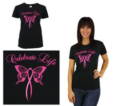 Celebrate Life t-shirt from The Breast Cancer Site
