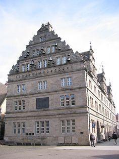 Lower Saxony, Hamelin-Pyrmont (district), Hamelin (town), Hochzeitshaus Rathaus  (Wedding House Town Hall)
