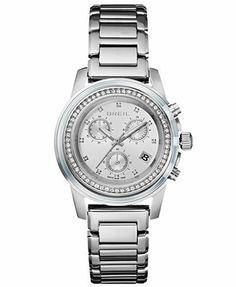 Breil Watch, Women's Chronograph Orchestra Stainless Steel Bracelet 37mm TW1187