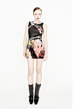    Manning Cartell- Iron Gothic Drape Dress