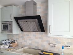 'Chic Craquele' kitchen tiles (4 shades) from Topps Tiles