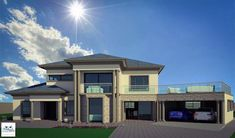 House Plans For Sale, Free House Plans, Sims House Plans, House Plans Mansion, Duplex House Plans, Luxury House Plans, Double Storey House Plans, Double Story House, House Gate Design