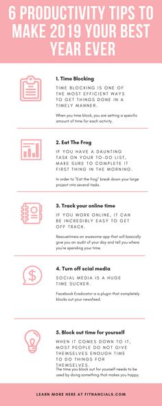 6 Productivity Tips To Make 2019 Your Best Year EverYou can find Time management tips and more on our Productivity Tips To Make 2019 Your Best Year Ever Work Productivity, Productivity Quotes, Cash Envelope System, How To Stop Procrastinating, Marca Personal, Save Money On Groceries, Time Management Tips, Business Management, Project Management