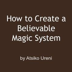 Great post, in a great COMPREHENSIVE series on creating magic systems.