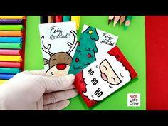 Handmade Christmas cards- Learn to make Christmas Cards by Hand - Christmas Cards To Make, Christmas 2019, Handmade Christmas, Christmas Crafts, Xmas, Decorating On A Budget, Disney Art, More Fun, Anime