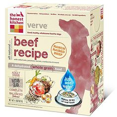 4Lbs Dehydrated Beef Organic Grains Vegetables  Fruit Verve Dog Food *** Visit the image link more details.