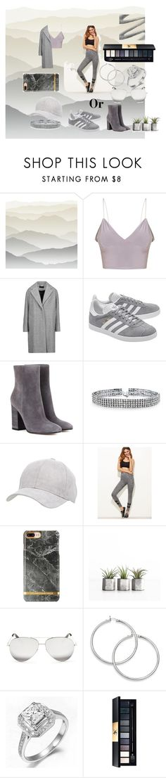 """""""Untitled #137"""" by estersc ❤ liked on Polyvore featuring York Wallcoverings, rag & bone, adidas Originals, Gianvito Rossi, Bling Jewelry, Charlotte Russe and Victoria Beckham"""