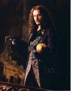 Jason Isaacs as Captain Hook.