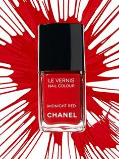 Chanel Midnight #Red.