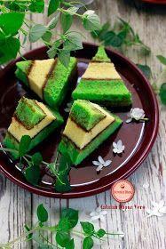 Catatan Dapur Vero: CAKE LAPIS PANDAN