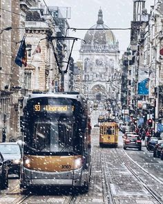 Brussels covered in a fresh blanket of snow - Regramed from @bouchta_be . . . . #canonbelgium #liveforthestory #eosm5 #brusselsismyhome #whp #traveleurope #europe #eurotrip #travelawesome #travelgram #traveladdict #letsgosomewhere #belgique #belgië #belgium #bruxelles #brussels #brüksel #welovebrussels #visitbrussels #bxlove #citylife #church #streetphotographers #streetphotography #streetshot #architecture #tramway #snow