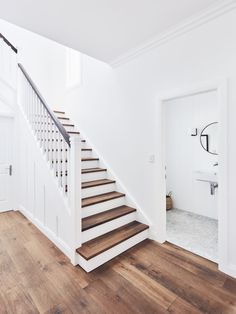 a Hamptons inspired Sydney Northern Beaches home - getinmyhome renovation StaircaseInside a Hamptons inspired Sydney Northern Beaches home - getinmyhome renovation Staircase