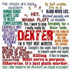 Gotta love Dexter...