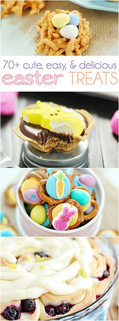 70+ Easter Treats http://www.somethingswanky.com/50-easter-treats/?utm_campaign=coschedule&utm_source=pinterest&utm_medium=Something%20Swanky&utm_content=70%2B%20Easter%20Treats