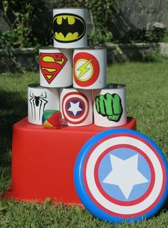 Ideas fiesta superheroe - Visit to grab an amazing super hero shirt now on sale! Superhero Party Games, Superhero Birthday Party, 6th Birthday Parties, Hulk Birthday, Avengers Birthday, Boy Birthday, Birthday Ideas, Spider Man Party, Hulk Party
