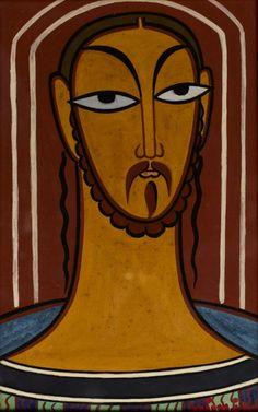 Jamini Roy (1887 - 1972)Christ