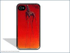 Salvador Dali The Elephants iPhone 4 Case by AbstractiPhoneCases, $17.99