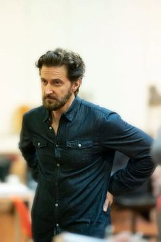a frequently irreverent and occasionally cerebral feuilleton of richard armitage studies Richard Armitage Hobbit, Theatre Plays, John Thornton, Gray Eyes, Blue Eyes, Guy Names, British Actors, My Guy, Best Actor