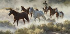 Trailin' Dust by Tom Browning
