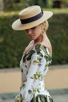 Feel like a celeb on Rodeo Drive with the Rodeo Boater hat by Morgan and  Taylor e422965af15b
