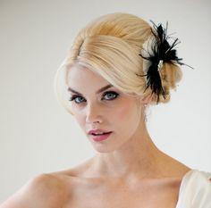 Bridal Fascinator Wedding Hair Accessory by PowderBlueBijoux, $79.00