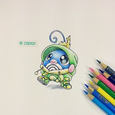 Poliwag in Politoed onesie by itsbirdy