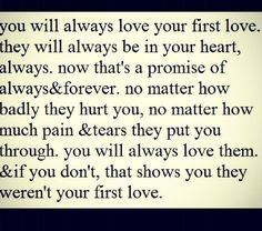 All you can do is move on and find your forever love