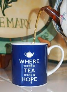 I'd rather have tea....  No use for hope.