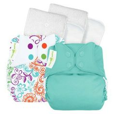 Look how cute these BumGenius diapers are for a little girl! Way cuter than disposable!