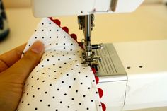 Gertie's New Blog for Better Sewing: Sewing Rick Rack Edging to a Dress