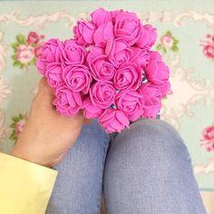 Beautiful Pink Roses from @guljuju  #pink #roses #rose #pinkrose #pinkroses #obsessedwithpink
