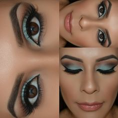 Flawless make-up application by @melpalmakeup