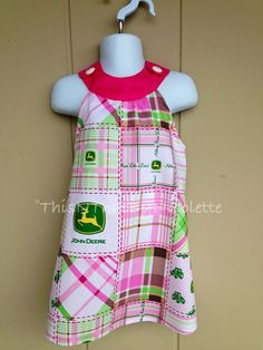 Sundress Made With John Deere Fabric by ThisNThatByNicolette