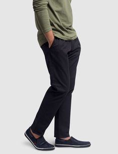 Our timeless pleated chinos are crafted from cotton. These chinos are designed to effortlessly blend into your smart casual environments. They are cut to a regular fit from a soft twill fabric featuring a zip fly with top button closure. Mens Chino Pants, Denim Pants, Denim Outfit, Smart Casual, Wholesale Clothing, Sweatpants, Pockets, Fitness, Cotton