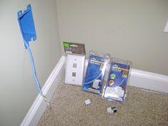 Ethernet Wall Jack Wiring Kit